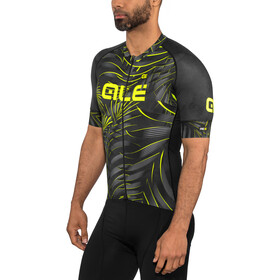 Alé Cycling Graphics PRR Sunset Maillot Manga Corta Hombre, black-yellow flou